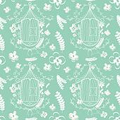 Birdcages pattern