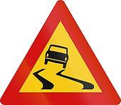 Slip Danger in Iceland
