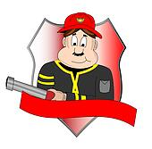 Badge of fire department
