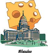 Milwaukee Wisconsin Capitol Cheese