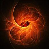 fire phoenix flame rays