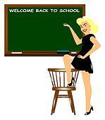 welcome back to school teacher