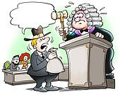 Decision in a judicial proceedings