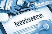 Emphysema Diagnosis. Medical Concept.