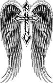 cross wing emblem
