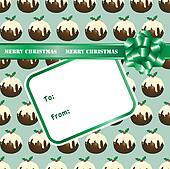 Christmas pudding gift