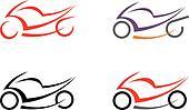 Motorbike, motorcycle - vector imag