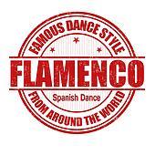 Flamenco stamp