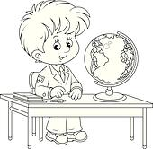 Geography Lesson Clip Art - Royalty Free - GoGraph