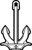 Nautical ships anchor