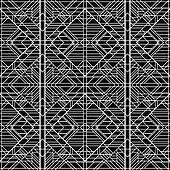 Seamless Geometric Pattern. Art Deco styled