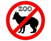 Jackal in zoo prohibited