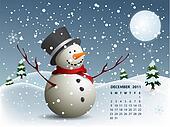 2011 december calendar