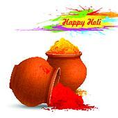 Colorful Happy Holi