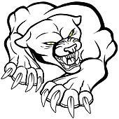 Monster puma cat