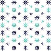Helm wheels and starfish pattern