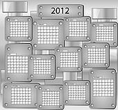Calender with all months of year 20