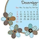2012 December Calendar