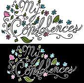 My Condolences Floral Message
