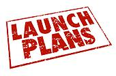 Launch Plans Red Stamp Information Advice Steps Begin New Busine