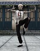 zombie Kung fu master