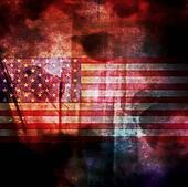 Concept Grunge USA Flag