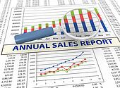3d magnifier and sales report