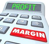 Profit Margin Words Calculator Figuring Net Earned Income