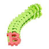 Bitcoin signs falling as a domino e