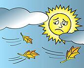 Sad Sun End of Summer