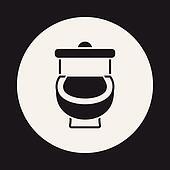 Toilet Seat Clip Art - Royalty Free - GoGraph
