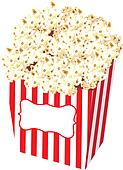 Popcorn Bag Stock Illustration