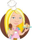 Junior Chef Illustration