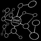 Social Media Networking Chart