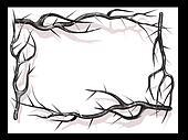 Burs branch frame