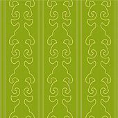Victorian Green Seamless Pattern