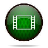 movie green internet icon