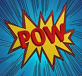 Comic Book Pow