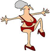 High Stepping Grandma