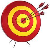 Success target shooting