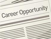 newspaper Career Opportunity ad