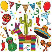 Mexican Party Fiesta Clip art