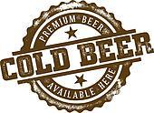 Cold Beer Stamp