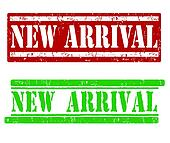 New Arrival stamps