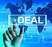 Deal Map Displays Worldwide or International Agreement