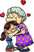 Grandma hug