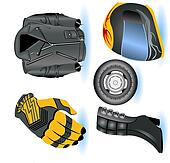 Motorcycle Icons 1