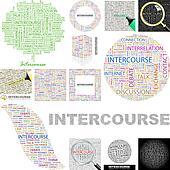 Intercourse. Concept illustration.