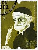 PORTUGAL - 2008: shows Father Antonio Vieira (1608- 1697), missi