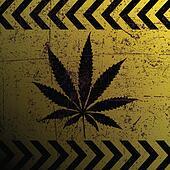 Sign of marijuana